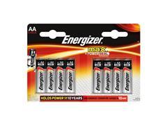 Energizer Max AA Batterij, 1,5 V (blister 8 stuks)