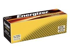 Energizer Industrial C Batterij, 1,5 V (pak 12 stuks)