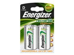 Energizer Batterij oplaadbaar D/HR20 (pak 2 stuks)