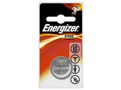 Energizer CR2450 Knoopcel Batterij, diameter 24 mm, 3 V (pak 2 stuks)