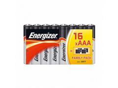 Energizer Alkaline Power AAA Batterij, 1,5 V (doos 16 stuks)