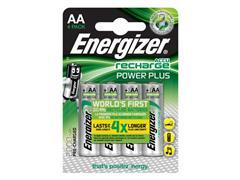 Energizer Extreme oplaadbare batterijen, HR6/AA 2000 mAh, blisterverpakking van 4 opgeladen batterijen (pak 4 stuks)