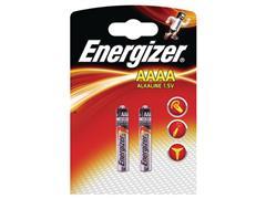 Energizer AAAA Batterij, 1,5 V (pak 2 stuks)