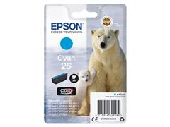 Epson 26 Toner, single pack, cyaan