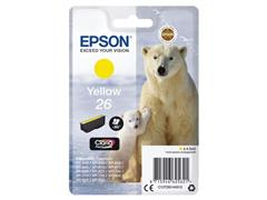 Epson 26 Toner, single pack, geel