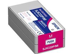 Epson SJIC22P Inktcartridge, Magenta