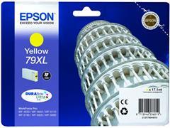 Epson 79XL Toner, single pack, hoog rendement, geel