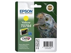 Epson T0794 Toner, single pack, geel