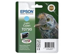 Epson T0795 Toner, single pack, cyaan