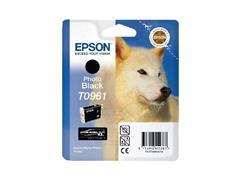 Epson T0961 Inktcartridge, Zwart