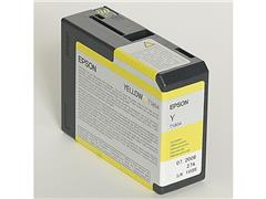Epson T5804 Toner, single pack, geel