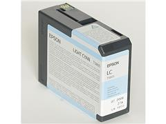 Epson T5805 Toner, single pack, cyaan