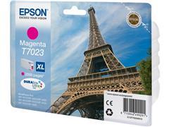 Epson T7023 Toner, single pack, hoog rendement, magenta