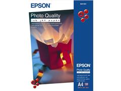 Epson A4 102-grams fotokwaliteit fotopapier voor inkjetapparaten, wit (pak 100 vel)