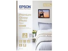 Epson Premium Glossy fotopapier A4 255g/m², C13S042155 (pak 15 vel)