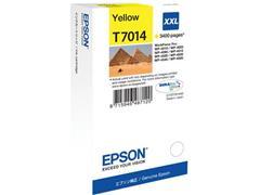 Epson T7014 Toner, single pack, hoog rendement, geel