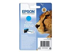 Epson T07124012 Toner, single pack, cyaan