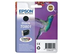 Epson T0801 Toner, single pack, zwart