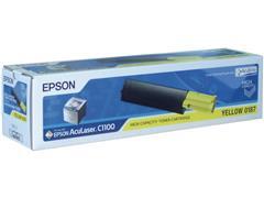 Epson 0187 Toner, Geel
