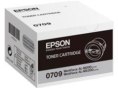 Epson 0709 Toner, Single Pack, Zwart