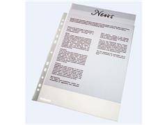 Esselte A4 Showtas, Polypropyleen, 60 micron, 11-gaats, Transparant (pak 100 stuks)