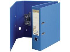 Exacompta Forever Ordner, A4, Rugbreedte 80 mm, Karton, Lichtblauw met Donkerblauw