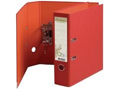 Exacompta Forever Ordner, A4, Rugbreedte 80 mm, Karton, Rood met Oranje