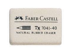 Faber-Castell Gum 7041 34 x 26 x 8 mm (doos 40 stuks)