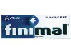 FINIMAL Tabletten, Pijnstiller (pak 20 stuks)