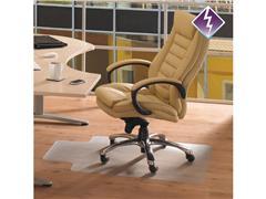 FLOORTEX COMPUTEX® Computex® Vloermat Voor Harde Vloeren, 900 × 1200 mm, Transparant