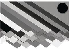 folia Fotokarton 50x70 zwart (pak 10 stuks)