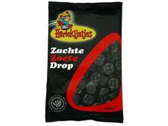 HARLEKIJNTJES Drop zachte zoete (pak 450 gram)