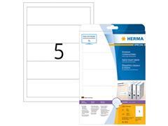 Herma Insteek-rugetiketten met rechte hoeken 190x54 mm (pak 125 stuks)