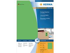 Herma Etiketten, 210 x 297 mm, 100 stuks, groen (pak 100 stuks)