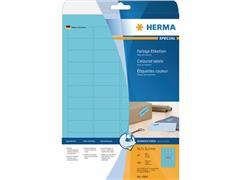 Herma Etiketten, 45,7 x 21,2 mm, 960 stuks, blauw (pak 960 stuks)
