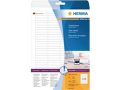 Herma Dia-etiketten, 43.2 x 8.5 mm, 3200 stuks (pak 3200 stuks)