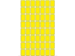 Herma Etiketten, 12 x 18 mm, 1792 stuks, geel (pak 1792 stuks)