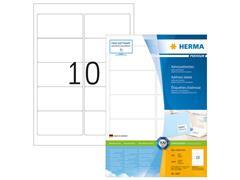 Herma PREMIUM etiketten met ronde hoeken 96x50,8 mm (pak 1000 stuks)