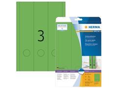 Herma Geklerude rugetiketten 61x297mm, groen (pak 60 stuks)