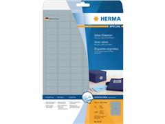 Herma Zilver glanzende folie etiketten 30,5x16,9 mm (pak 2400 stuks)