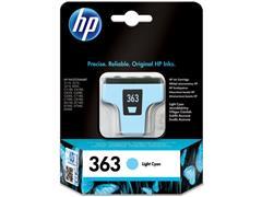 HP 363 Inktcartridge, Licht Cyaan