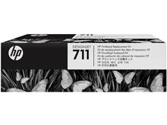 HP HP 711 - zwart, geel, cyaan, magenta - printkop (pak 4 stuks)