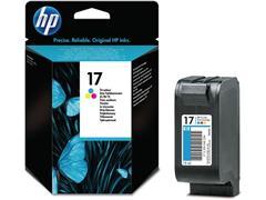 HP 17 Inktcartridge, Kleur