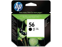 HP 56 Inktcartridge, Zwart