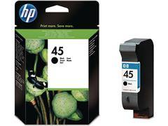 HP 45 Inktcartridge, Zwart