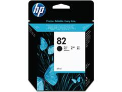 HP 82 Inktcartridge, Zwart