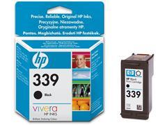 HP 339 Inktcartridge, Zwart (pak 2 stuks)