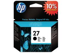 HP 27 Inktcartridge, Zwart