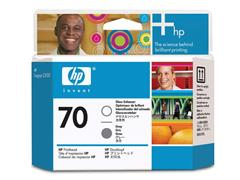 HP Printkop 70 Single Pack C9410A glansverhoger, grijs