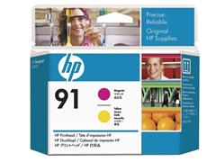 HP Printkop 91 Single Pack C9461A geel, magenta